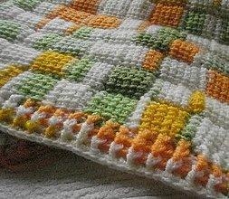 Úžitkový textil - Detská deka č.4 - 8630248_