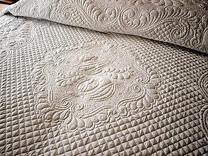 Úžitkový textil - Svatobný prehoz na manželskú posteľ - 8632162_