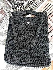 Veľké tašky - TOTE Bag grafit - 8630340_