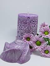 Svietidlá a sviečky - Sada sviečok z palmového vosku - 8632910_