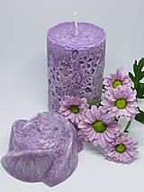 Svietidlá a sviečky - Sada sviečok z palmového vosku - 8632911_