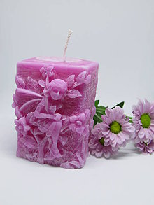 Svietidlá a sviečky - Sviečka Víla - 8632977_