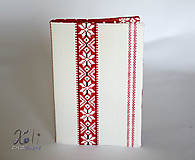- Obal na knihu s krojovým vzorom - 8632211_