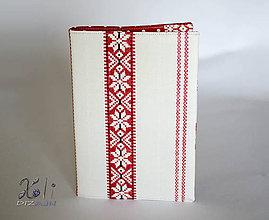 Papiernictvo - Obal na knihu s krojovým vzorom - 8632211_