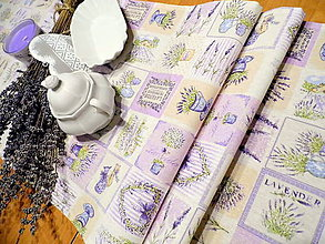 Úžitkový textil - levanduľová štóla - 8631384_