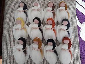 Dekorácie - Anjelské Vianoce v bielom - 8632978_