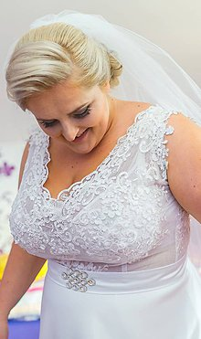 Šaty - Svadobné šaty - 8633070_