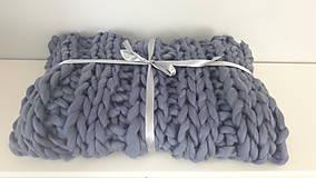 Úžitkový textil - Deka z XXL vlny - 8629757_