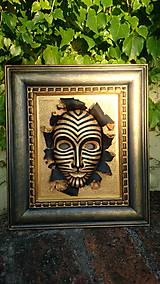 Obrazy - Jungle maska - 8632873_