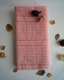 Textil - Detská deka - pale rose - 8630629_