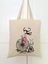Nákupné tašky - Len ja a môj svet - nákupná taška IV. - 8630396_