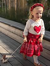 Detské oblečenie - Srdiečko - 8629203_