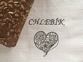 Úžitkový textil - Vrecúško na chlieb - 8630861_