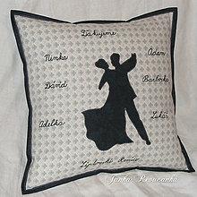 Úžitkový textil - tanečný - 8632945_