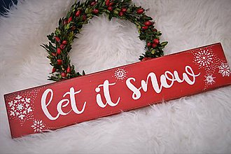 Tabuľky - Vianočná tabuľka - 8631968_