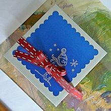 Papiernictvo - Popup vianočná kniha (pohľadnica), zimné vtipy - 8636424_