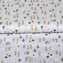 Textil - Vianočna les - 8633507_