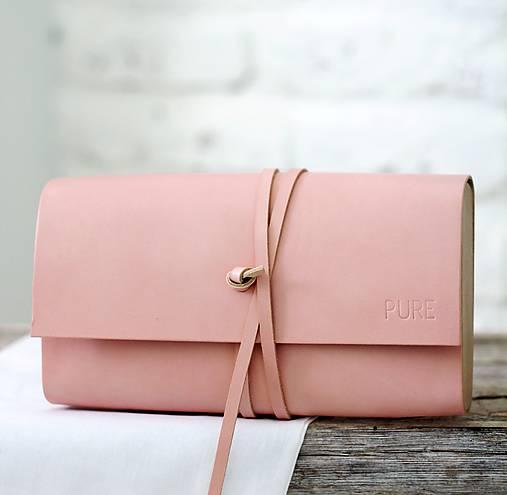 Kabelky - Listová kabelka MINI ME BLUSH - 8636496_