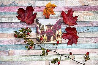 Papiernictvo - Leporelo 13x13 ,,Provence,, - 8633899_