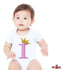 Detské oblečenie - Mám jeden rok - dievčenské - 8636396_