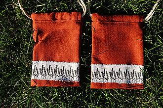 Úžitkový textil - vrecúško 8 - 8633299_