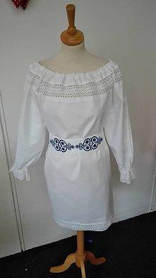 Šaty - Blúzka s paličkovanou čipkou Alena - 8633498_