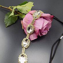 Ozdoby do vlasov - Great Gatsby Crystal štrasová ... čelenka - 8639780_