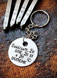 Kľúčenky - ĎAKUJEM ... - 8638157_