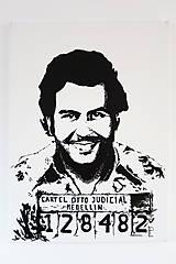 Obrazy - Obraz - Pablo Escobar (30 x 40 cm) - 8638409_
