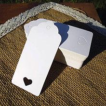 Papier - Romantické visačky - 8640327_