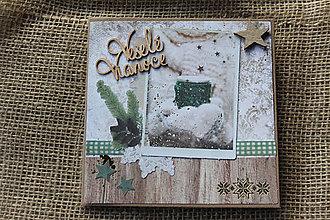 """Papiernictvo - Vianočná pohľadnica """"Zelené Vianoce 2"""" - 8639215_"""