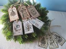 Papiernictvo - Vianočné visačky - 8639864_