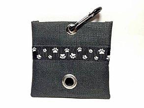 Pre zvieratká - Zásobník na WC vrecká čierny - 8638911_