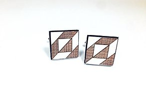 Šperky - Manžetové gombíky Minimalista - 8638302_