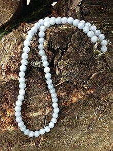 Náhrdelníky - Angelit - náhrdelník - 8638787_
