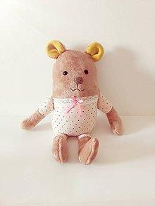 Hračky - Medvedík v pyžamku - 8638356_