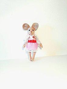 Hračky - Myška Annie - 8639425_