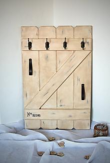 Nábytok - Vešiaková stena GRANNY'S COTTAGE - 8637622_