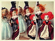 Hračky - Alica, klobučník a srdcová kráľovná - 8638832_