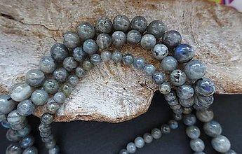 Minerály - Labradorit II 6mm - 8640143_