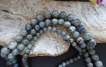 Minerály - Labradorit II 8mm - 8640153_