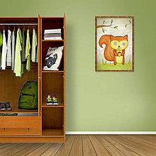 Kresby - Zvieracia kresba v PNG (veverička) - 8638971_
