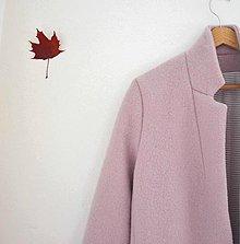 Kabáty - boyfriend coat staroružový - 8642285_