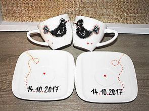 Nádoby - Svadobné vtáčiky 2 - 8641112_