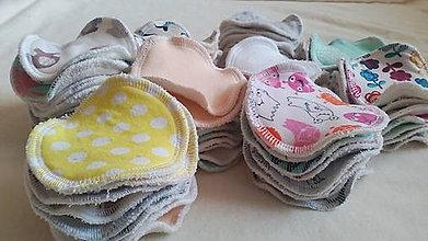 Úžitkový textil - ZERO WASTE odličovacie kozmetické tampóniky 6KS - 8642559_