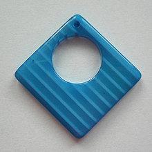 Korálky - Plast.prívesok 29x29mm-1ks - 8641685_