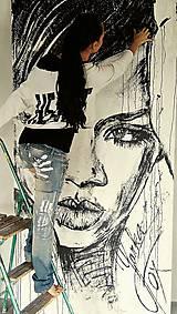 Obrazy - RIHANNA -pop art obraz - 8641812_