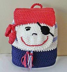 Detské tašky - Batoh - malý pirát - 8641236_