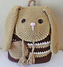 Detské tašky - Detský batoh zajačik - 8641421_