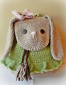 Detské tašky - Batoh malý zajačik - 8641666_